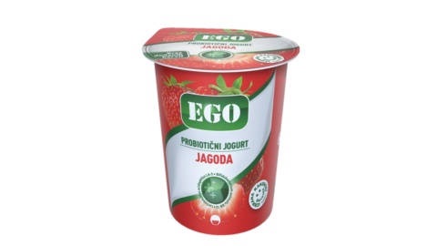 Ego probiotic; strawberry