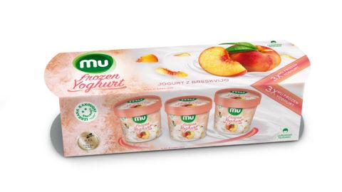 Mu Frozen Yoghurtz breskvijo