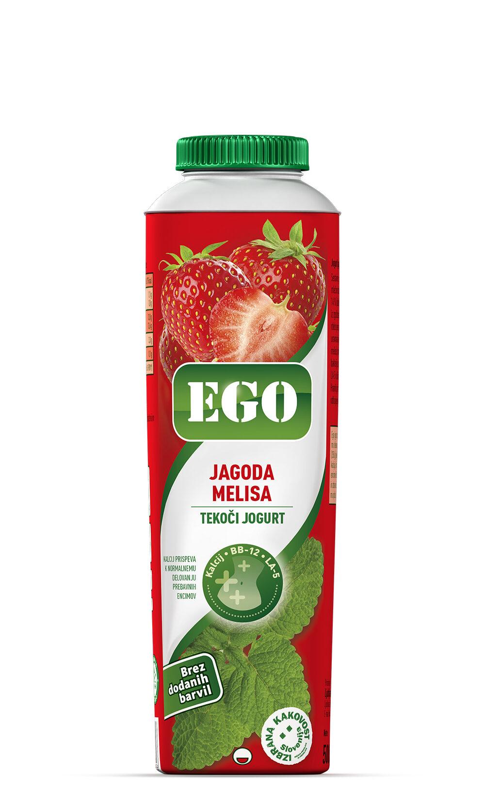 Ego, jagoda, melisa