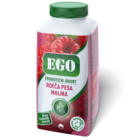 Ego probiotic; raspberry, red beet