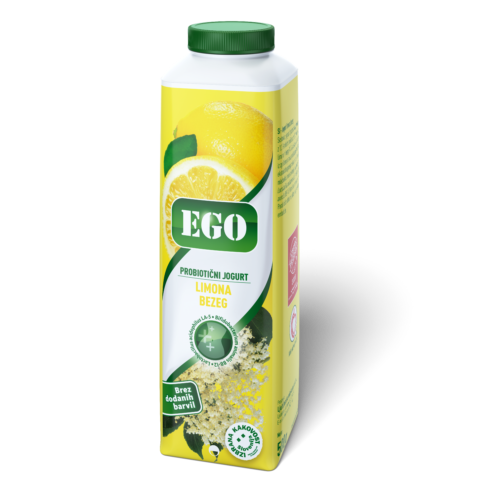 Ego probiotic; lemon, elder