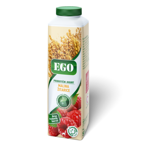 Ego probiotic; raspberry, cereals