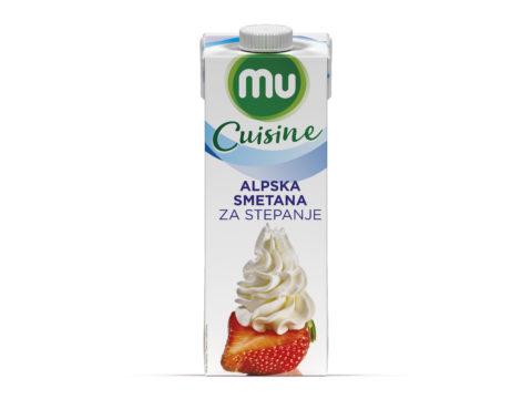 MU Cuisine Alpska smetana za stepanje