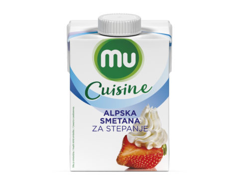 Mu Cuisine UHT whipping cream