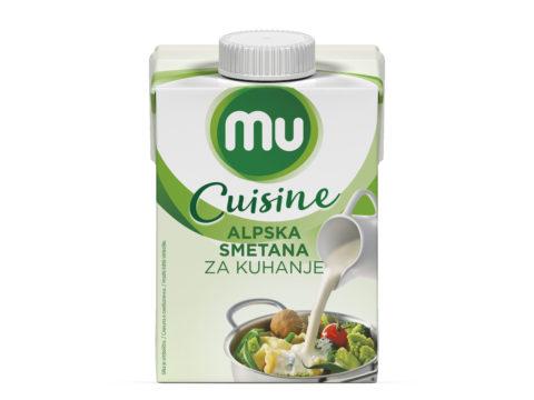 MU Cuisine Alpska smetana za kuhanje