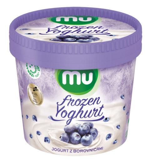 Mu Frozen Yoghurtz borovnicami