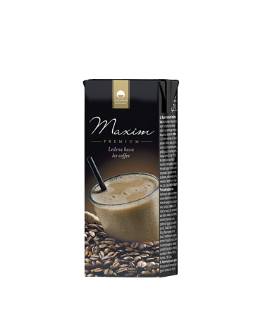 Maxim Premium ice coffee