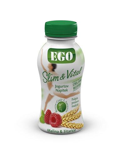Ego Slim & Vital raspberry, cereals