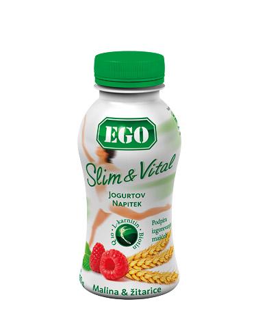 Ego Slim & Vital malina, žitarice
