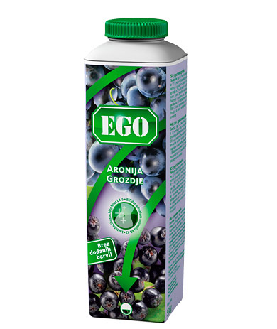 Ego probiotik; aronija, grozdje