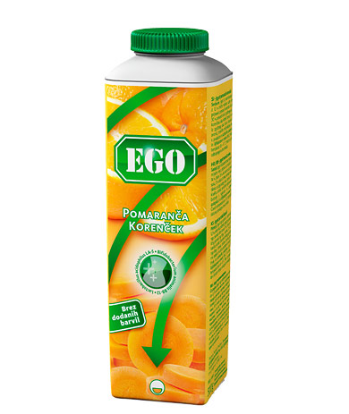 Ego probiotic; carrot, orange