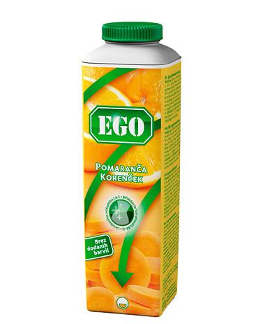 Ego probiotik; korenček, pomaranča