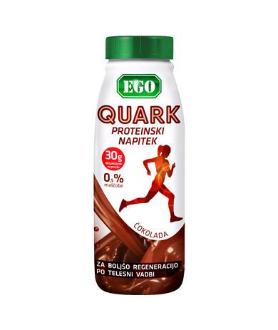 Ego Quark napitek čokolada