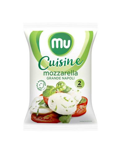 Mu Cuisine mozzarella Grande Napoli