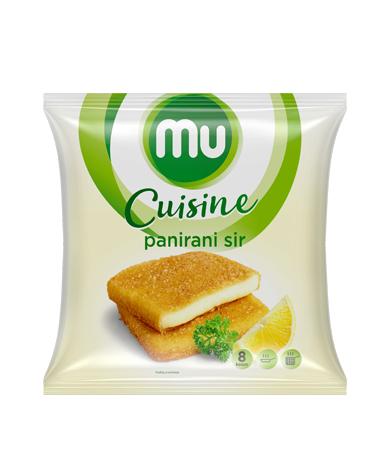 Mu Cuisine breaded cheese