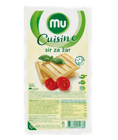 Mu Cuisine cheese for grill