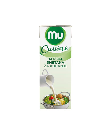 Mu Cuisine UHT cooking cream