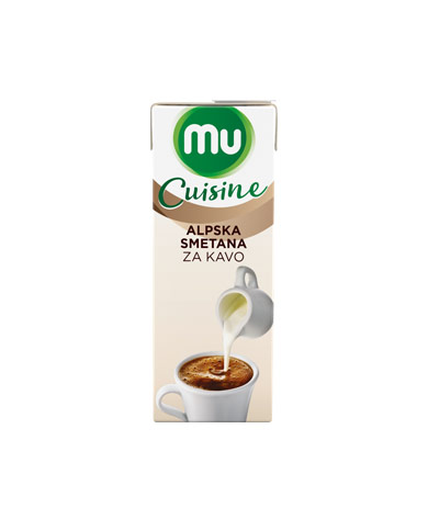 Mu Cuisine UHT coffee cream