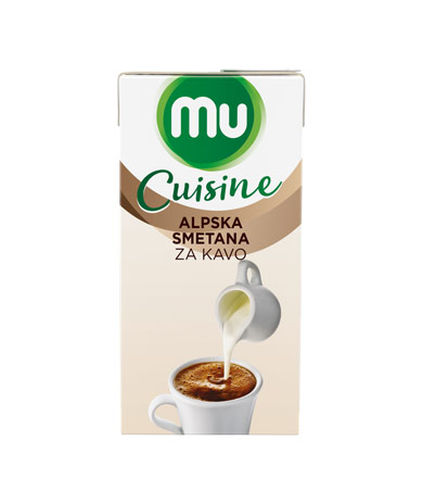 MU Cuisine Alpska smetana za kavo
