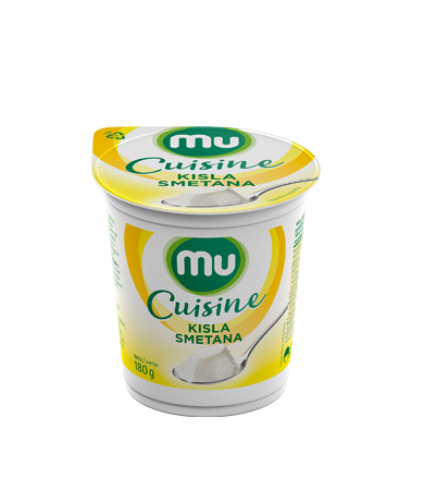 Mu Cuisine sour cream