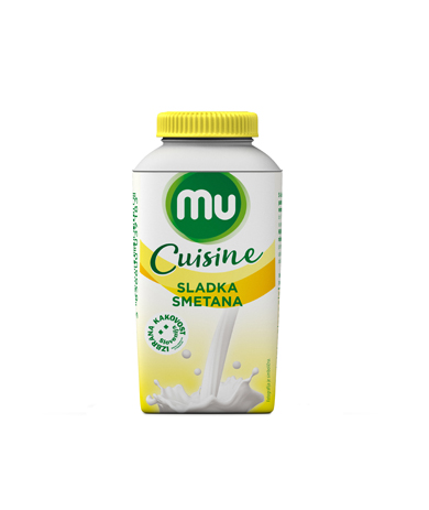 Mu Cuisine sweet cream