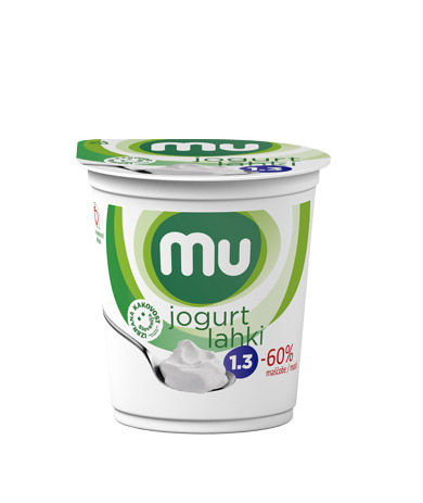 Mu natural yoghurt with 1,3 % milk fat