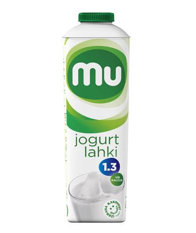 Mu naravni tekoči jogurt z 1,3 % m. m.: TT