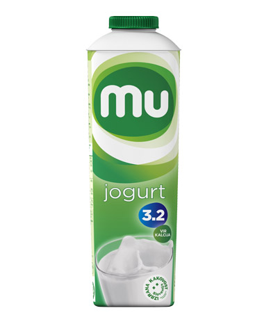 Mu naravni tekoči jogurt s 3,2 % m. m.; TT