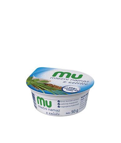 Mu mlečni namaz z zelišči
