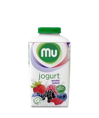 Mu fruit yoghurt forest fruits; TT