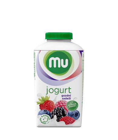 MU tekoči sadni jogurt gozdni sadeži; TT