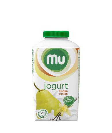 Mu fruit yoghurt pear, vanilla; TT