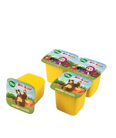 Mu sadni jogurt Maša in Medved