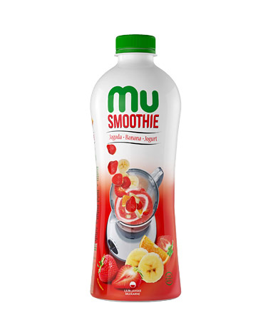 MU Smoothie jagoda, banana