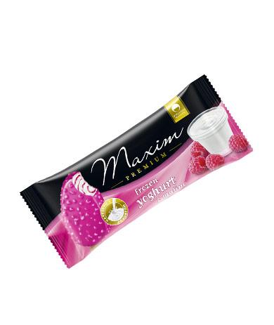 Maxim Premium frozen yoghurt z malino