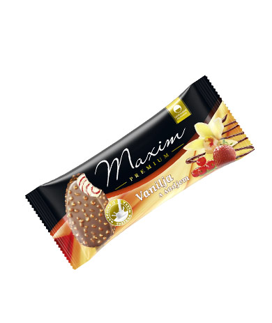 Maxim Premium vanilla with fruit