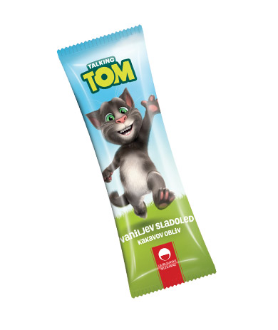 Talking Tom vaniljev sladoled s kakavovim oblivom