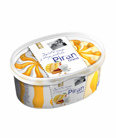 Piran Grand yogurt and mango