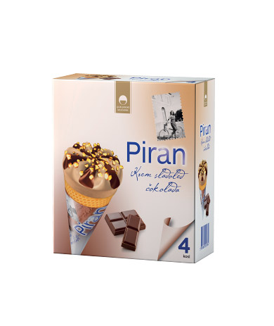 Piran cones chocolate