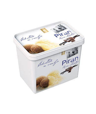Piran vanilla – chocolate