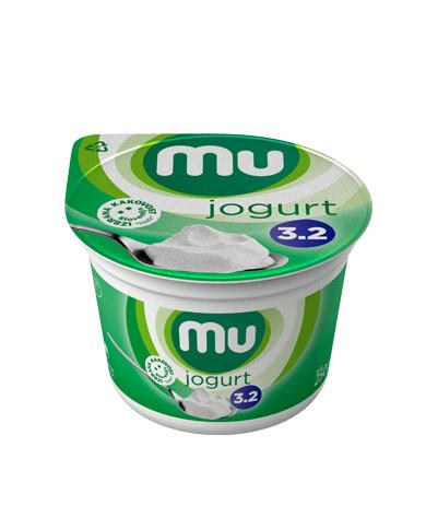 Mu naravni jogurt s 3,2 % m. m.