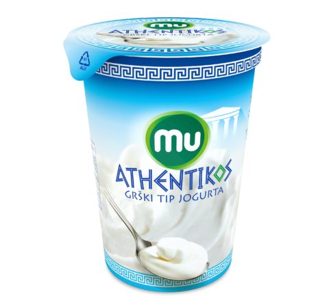Mu Athentikos naravni jogurt