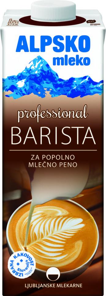 Alpsko mleko Professional Barista