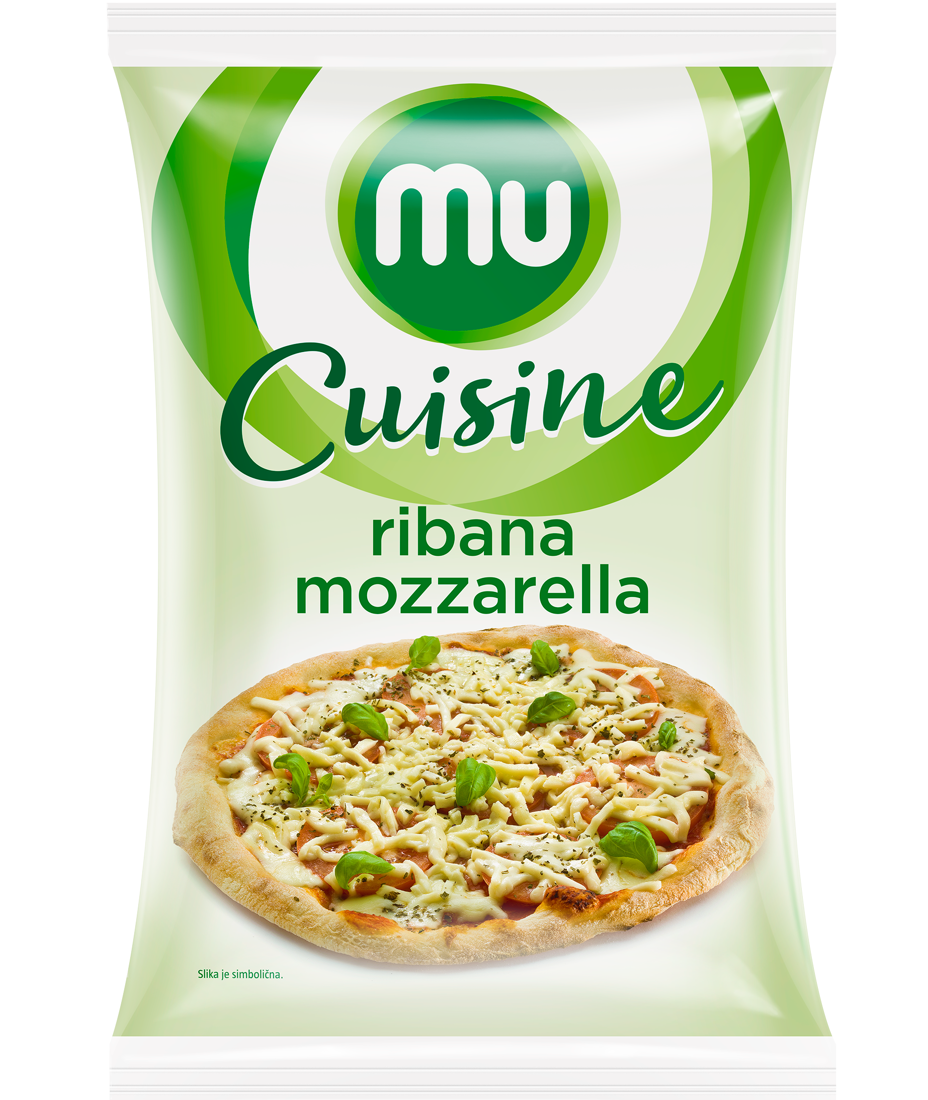 Mu Cuisine grated mozzarella