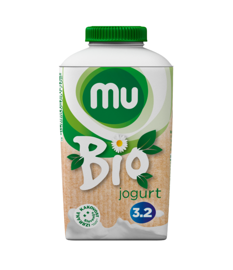 Mu bio plain yoghurt with 3,2 % milk fat; TT