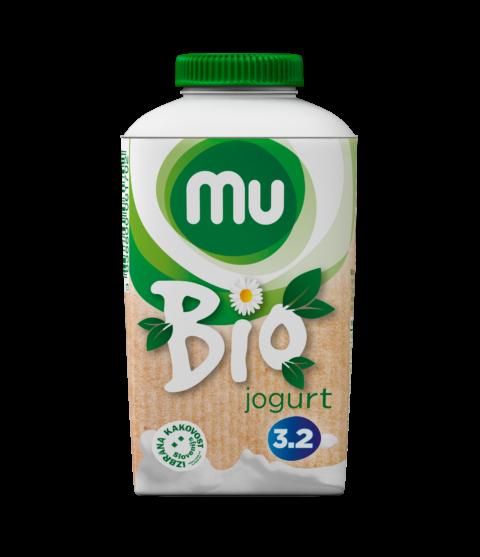Mu bio naravni jogurt s 3,2 % m. m.