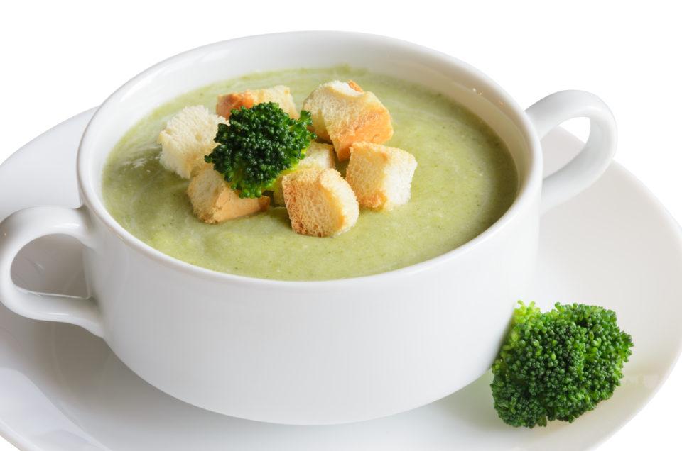Brokolijeva kremna juha