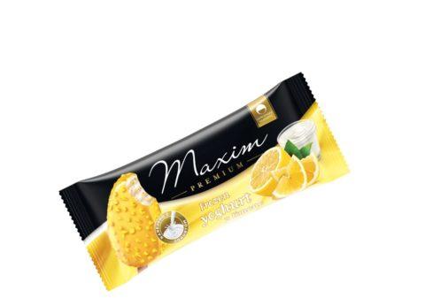Maxim Premium frozen yoghurt - lemon