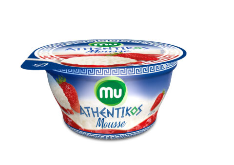 Mu Athentikos Mousse strawberry