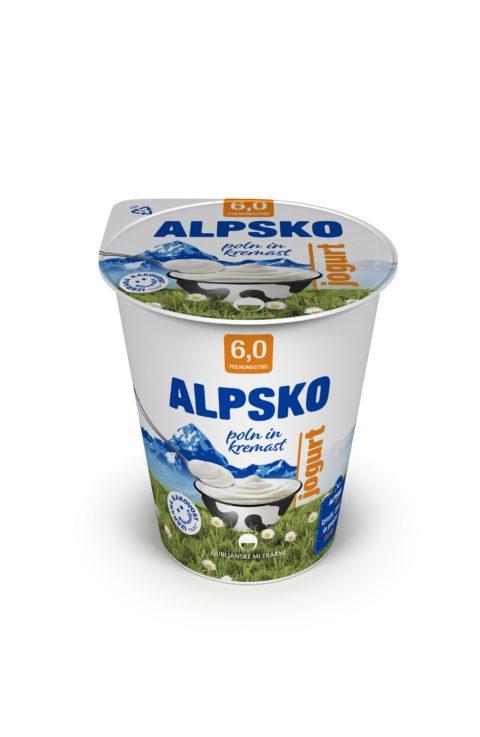 Alpsko umešan jogurt
